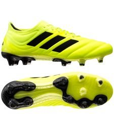 adidas Copa 19.1 FG/AG Hard Wired - Gul/Svart