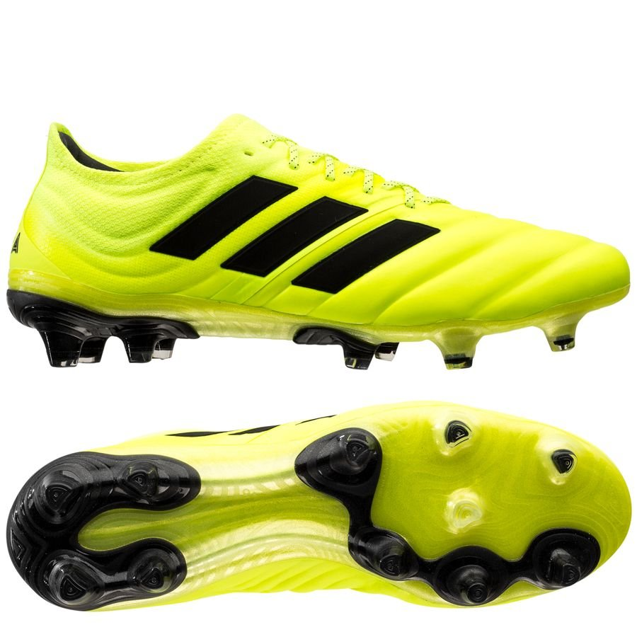 adidas Copa 19.1 FG/AG Hard Wired - Gul/Sort thumbnail