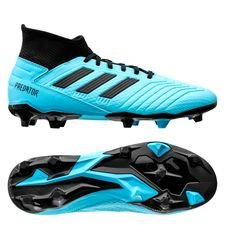adidas Predator 19.3 FG/AG Hard Wired - Turkis/Sort