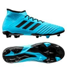 adidas Predator 19.2 FG/AG Hard Wired - Turkos/Svart