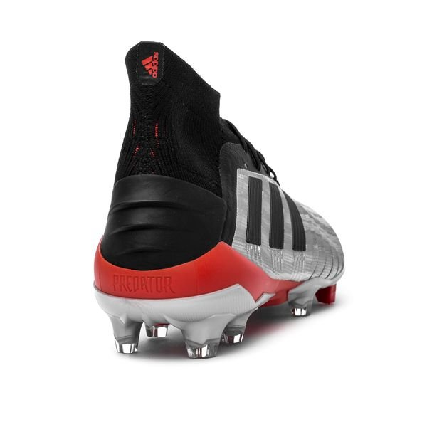35d5fe0c1 adidas Predator 19.1 FG AG 302 Redirect - Silver Metallic Core Black ...