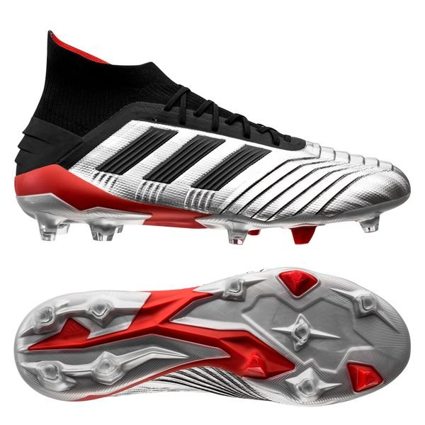 a4701a22e 219.95 EUR. Price is incl. 19% VAT. adidas Predator 19.1 FG AG 302 Redirect  - Silver Metallic Core Black Red