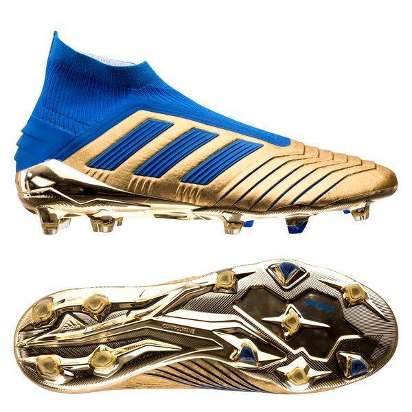 Innendørs adidas Fotballsko Predator 18 FG Hvit Brun, adidas