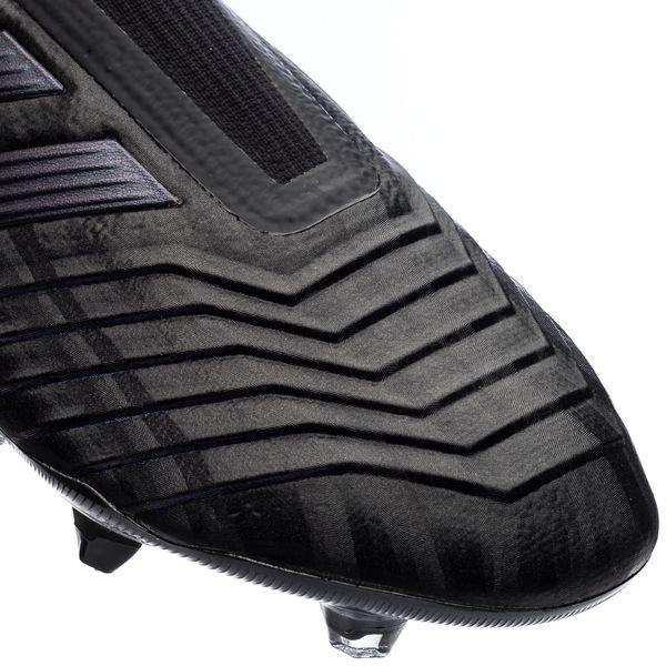 adidas Predator 19+ FG/AG Dark Script - Zwart/Grijs