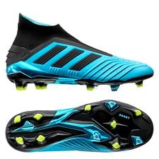 adidas Predator 19+ FG/AG Hard Wired - Turkis/Sort/Gul