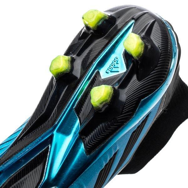 adidas Predator 19+ FG/AG Hard Wired - Turquoise/Zwart/Geel