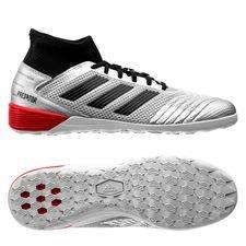 adidas Predator Tango 19.3 IN 302 Redirect - Silver/Svart/Röd