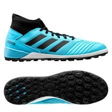 adidas Predator 19.3 TF Hard Wired - Turkis/Sort
