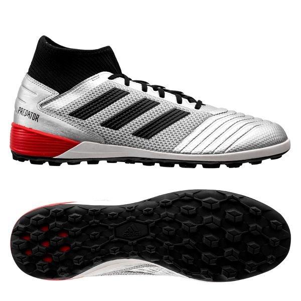 adidas Predator Tango 19.3 TF 302 Redirect - Silver Metallic/Core  Black/High Risk Red