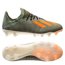 adidas X 19.1 AG Encryption - Vert/Orange/Blanc