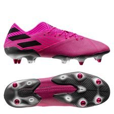 adidas Nemeziz 19.1 SG Hard Wired - Pink/Sort