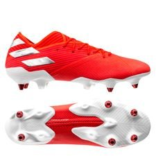 adidas Nemeziz 19.1 SG 302 Redirect - Action Red/Silver Metallic/Solar Red