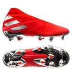 adidas Nemeziz 19+ SG 302 Redirect - Action Red/Silver Metallic/Solar Red