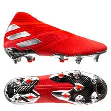 adidas Nemeziz 19+ SG 302 Redirect - Action Red/Silver Metallic/Solar Red