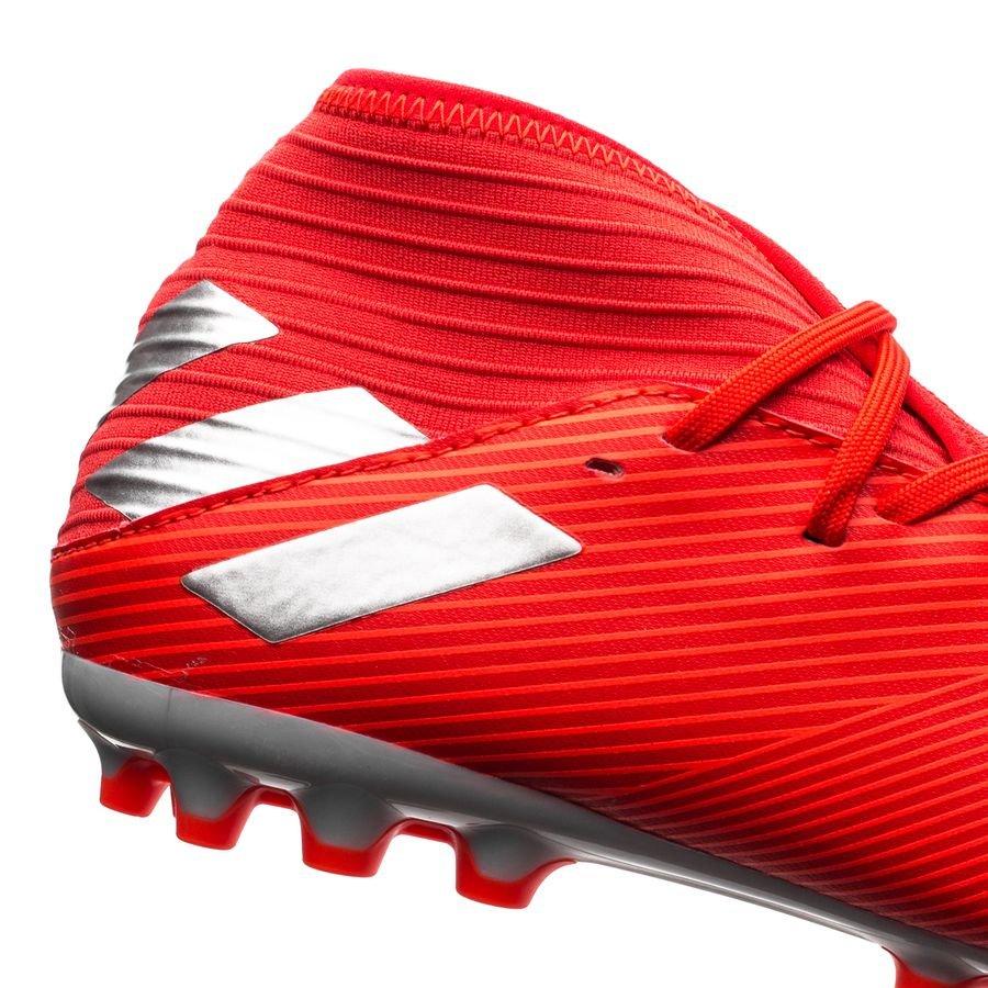 87849f2f2 adidas Nemeziz 19.3 AG 302 Redirect - Action Red/Silver Metallic Kids    www.unisportstore.com