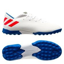 adidas Nemeziz Messi Tango 19.3 TF 302 Redirect - Wit/Rood/Blauw Kinderen