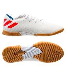 46504468 adidas Nemeziz Messi Tango 19.3 IN 302 Redirect - Hvid/Rød/Blå Børn