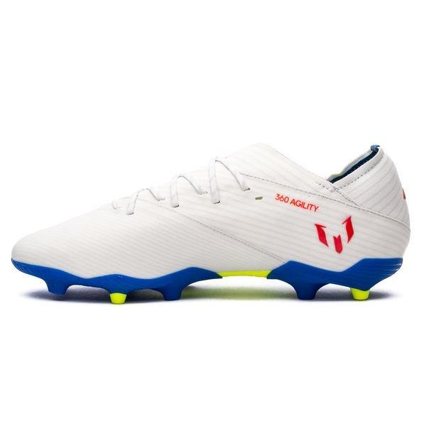 new style 0e9f4 ec206 adidas Nemeziz Messi 19.1 FG AG 302 Redirect - Footwear White Solar Red