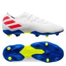 adidas Nemeziz Messi 19.1 FG/AG 302 Redirect - Footwear White/Solar Red/Football Blue Kids