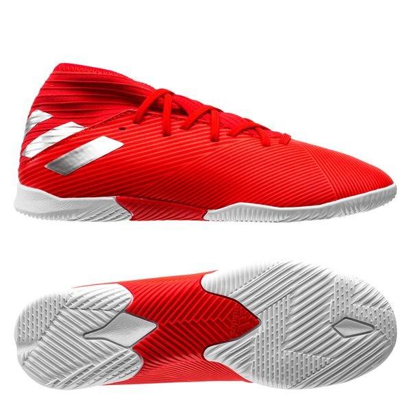 Adidas Nemeziz Tango 19 3 In 302 Redirect Rot Silber Kinder