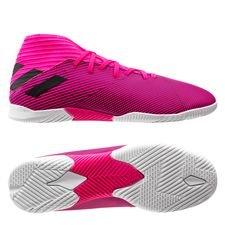 adidas Nemeziz 19.3 IN Hard Wired - Pink/Sort Børn