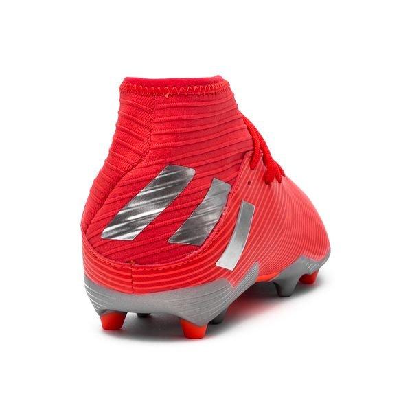 Adidas Innesko Fotball | Adidas Nemeziz 19.3 Sokk AG Rød