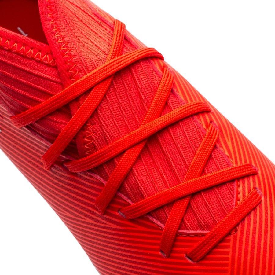 0e7259911 adidas Nemeziz 19.3 FG/AG 302 Redirect - Action Red/Silver Metallic Kids    www.unisportstore.com