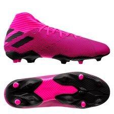 adidas Nemeziz 19.3 FG/AG Hard Wired - Pink/Sort Børn