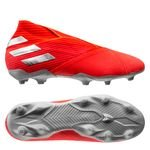 adidas Nemeziz 19+ FG/AG 302 Redirect - Action Red/Silver Metallic/Solar Red Kids