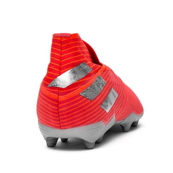 202aa1d3 adidas Nemeziz 19+ FG/AG 302 Redirect - Rød/Sølv/Rød Børn   www ...