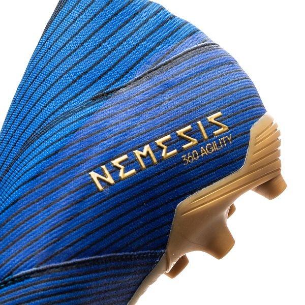 adidas Nemeziz 19+ FGAG Inner Game BleuBlancNoir Enfant
