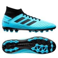 adidas Predator 19.3 AG Hard Wired - Turkis/Sort
