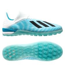 adidas X 19.1 TF Hard Wired - Turkis/Sort/Pink