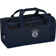 Bayern München Sportväska Duffel Medium - Navy/Vit