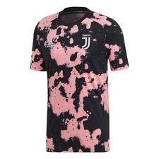 Juventus Tränings T-Shirt Pre Match Hemma Parley - Rosa/Svart Barn