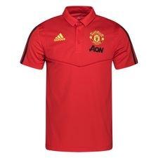 Manchester United Piké - Röd/Grå