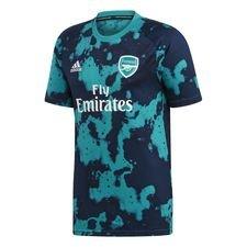 Arsenal Tränings T-Shirt Pre Match Hemma Parley - Grön/Navy Barn