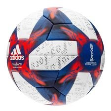 adidas Official Matchball Women's World Cup 19 Knockout stage - Weiß/Football Blue/Rot
