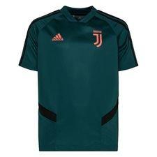 Juventus Tränings T-Shirt - Grön/Svart Barn