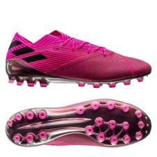 adidas Nemeziz 19.1 AG Hard Wired - Pink/Sort