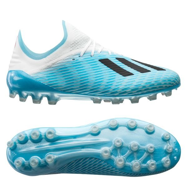 arrives discount sale free delivery adidas X 19.1 AG Hard Wired - Bright Cyan/Core Black/Shock Pink