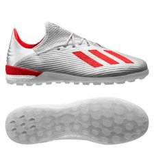 adidas X 19.1 TF 302 Redirect - Zilver/Rood/Wit