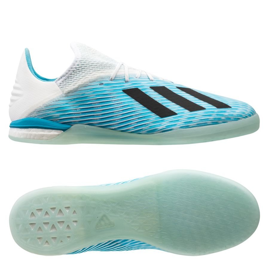 adidas X 19.1 IN Hard Wired - Turkis/Sort