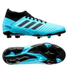 adidas Predator 19.3 FG/AG Hard Wired - Turkos/Svart Barn
