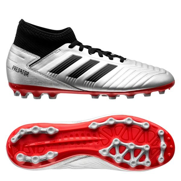 89625c270b7 59.95 EUR. Price is incl. 19% VAT. New. adidas Predator 19.3 AG 302  Redirect - Silver Metallic Core Black High Risk Red