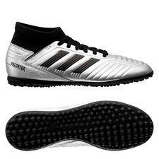 adidas Predator Tango 19.3 TF 302 Redirect - Zilver/Zwart/Rood Kinderen