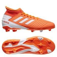 adidas Predator 19.3 FG/AG Women's World Cup 19 - Oranssi/Valkoinen/Glow Pink Nainen