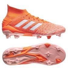adidas Predator 19.1 FG/AG Women's World Cup 19 - Oranssi/Valkoinen/Glow Pink Nainen