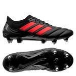 adidas Copa 19.1 SG 302 Redirect - Musta/Punainen/Hopea