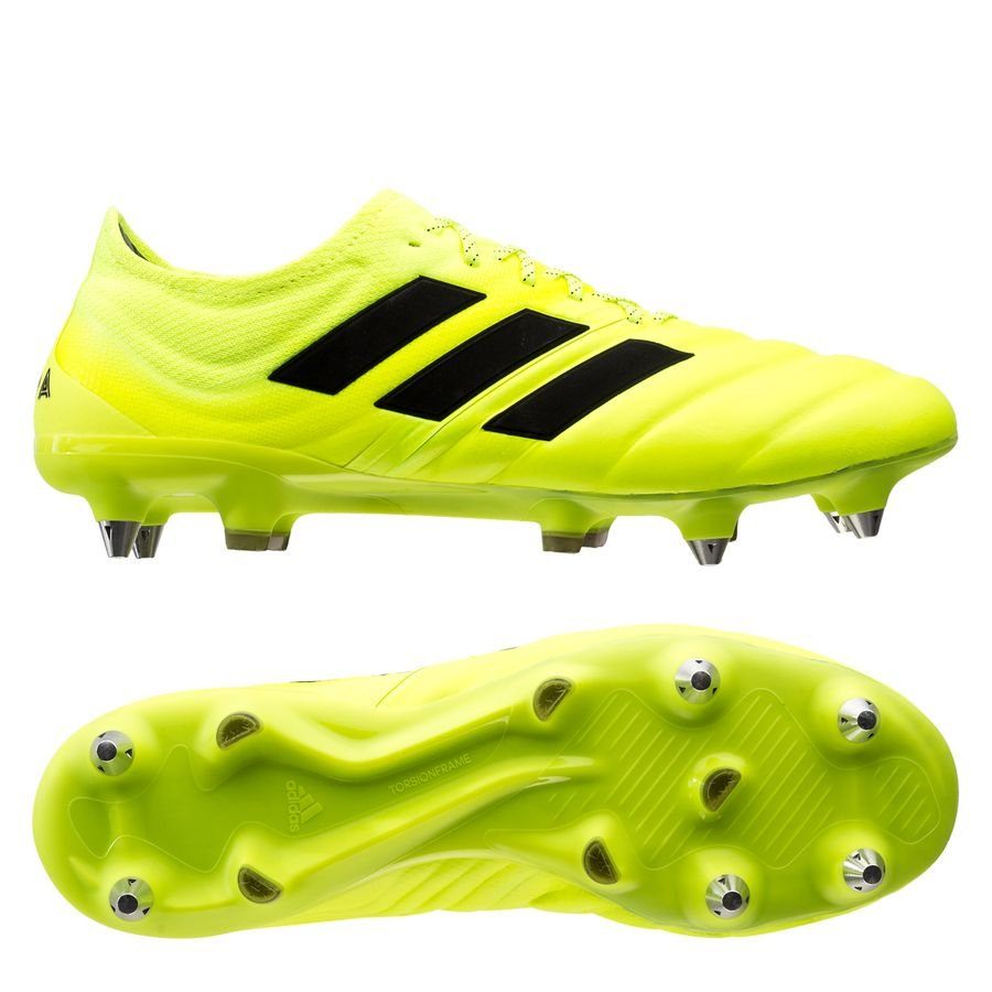 adidas Copa 19.1 SG Hard Wired - Gul/Sort thumbnail